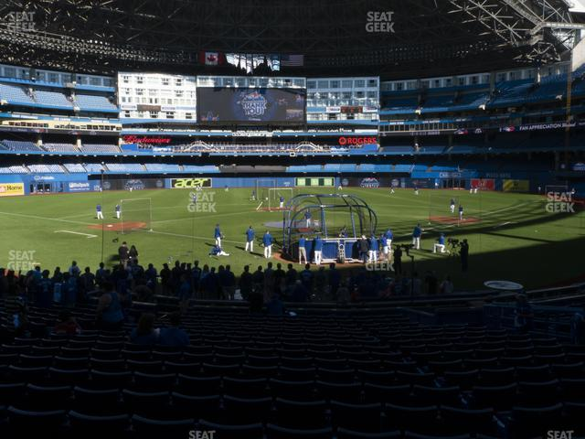 Rogers Centre Section 122 L view