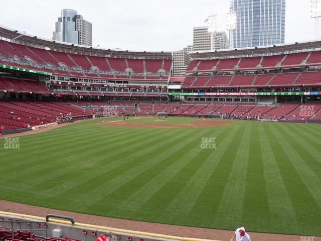 Great American Ball Park Section 143 view