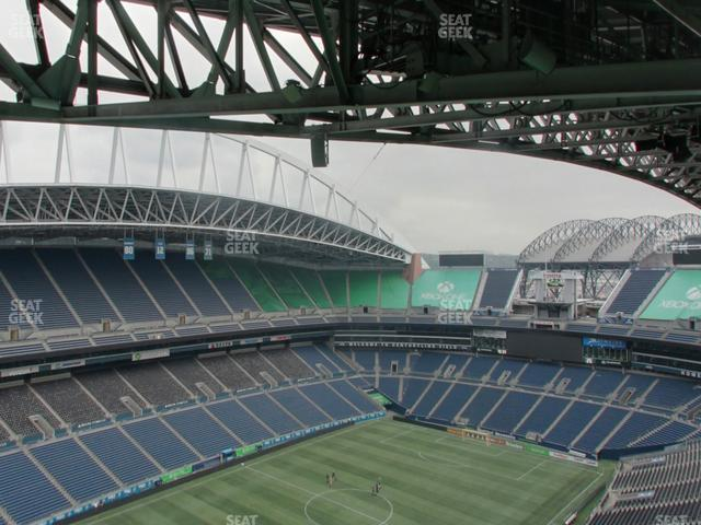 CenturyLink Field Upper 343 view