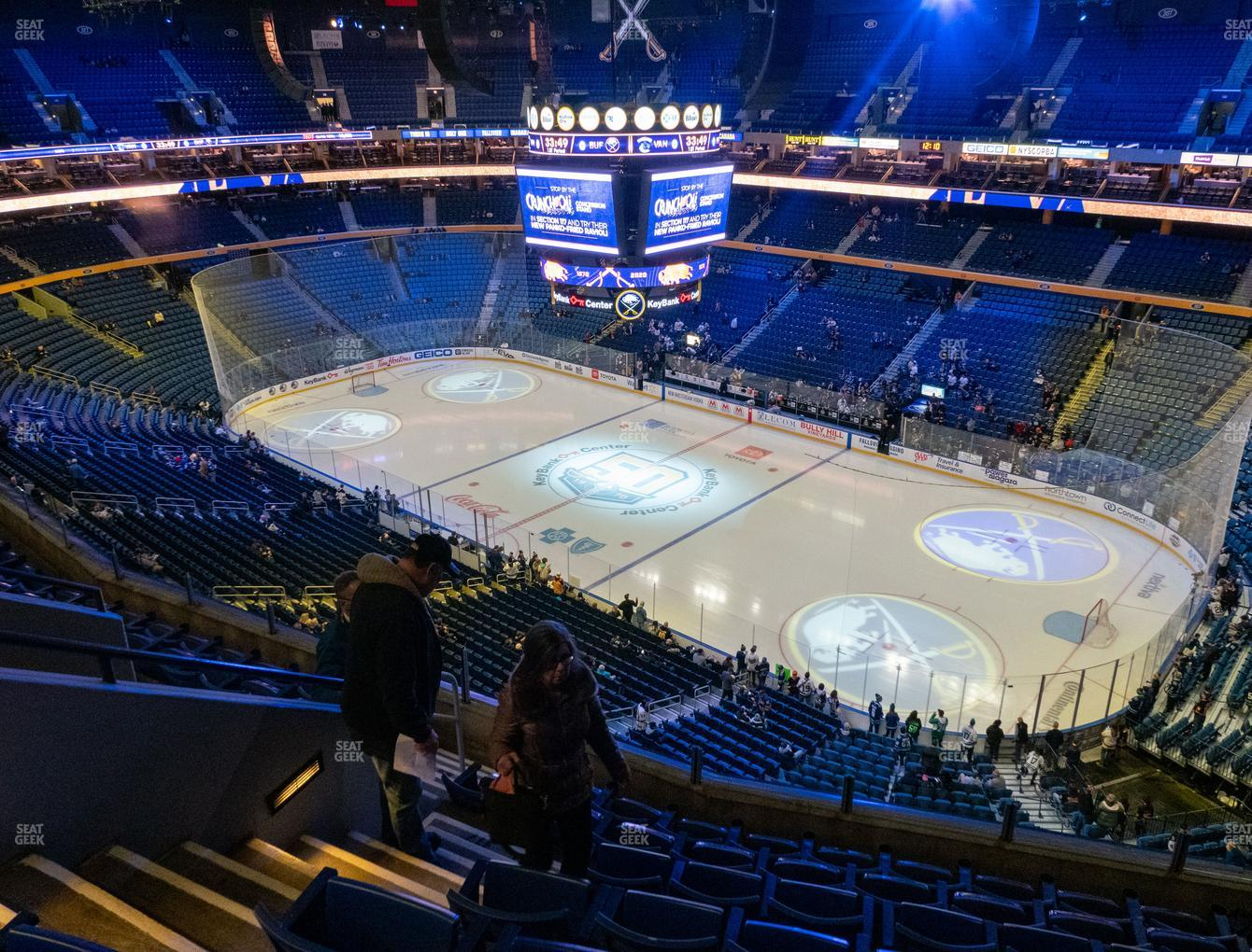 Buffalo Sabres at KeyBank Center Section 317 View