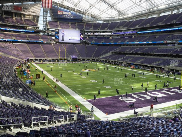 U.S. Bank Stadium Section 101 view