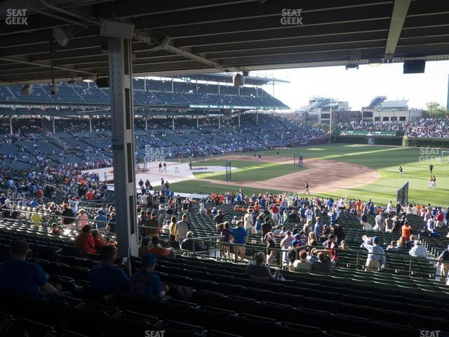 Wrigley Field Section 227 view