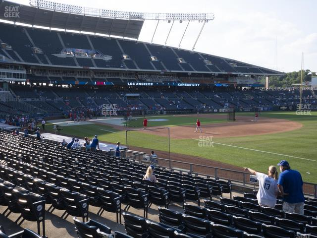 Kauffman Stadium Section 141 view