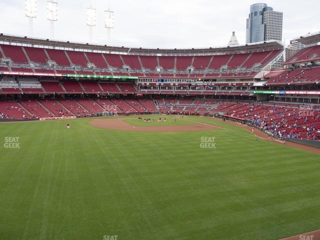 Great American Ball Park Section 402 view
