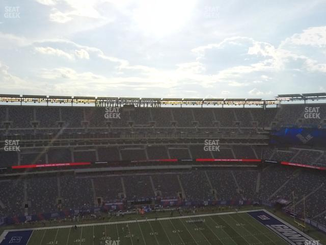 MetLife Stadium Section 315 view