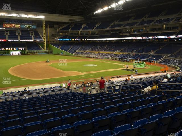 Marlins Park Section 22 view