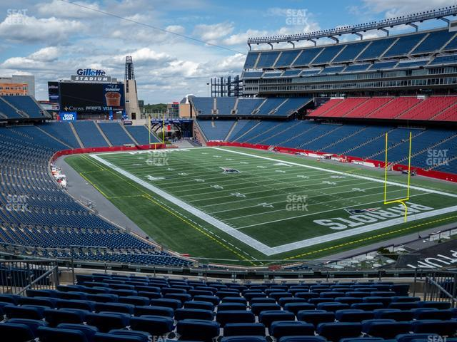 Gillette Stadium Section 224 view