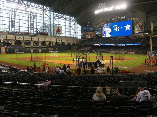 Minute Maid Park Section 118 view