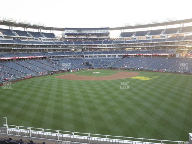 Nationals Park Section 243 view