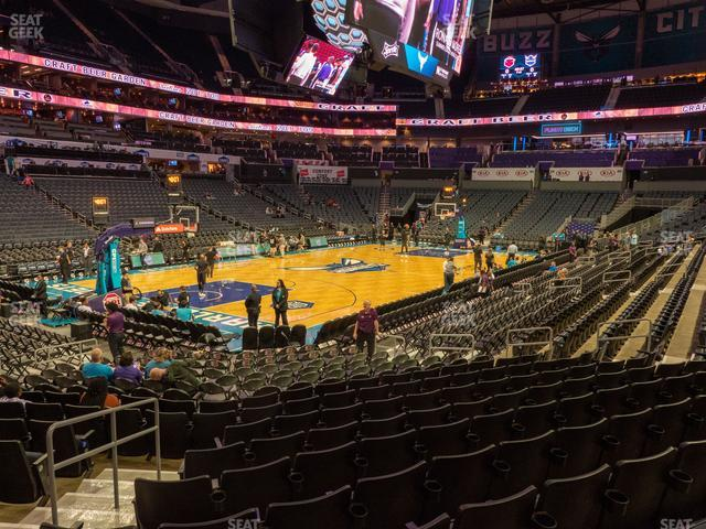 Spectrum Center Section 116 view