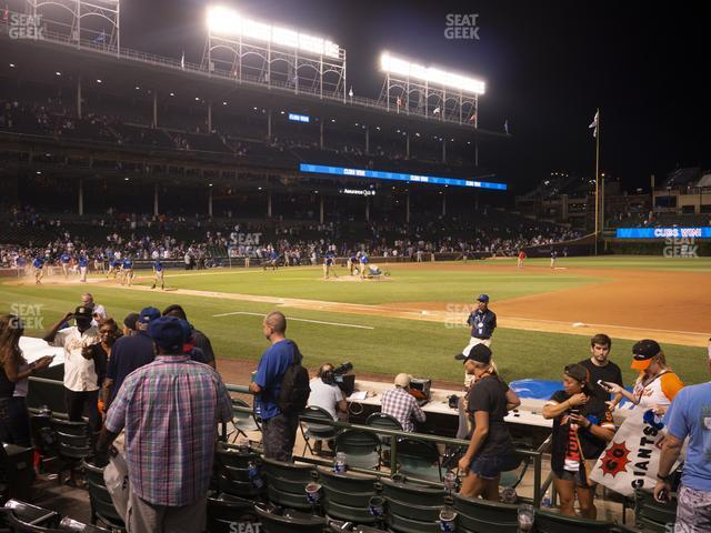 Wrigley Field Club Box Infield 27 view