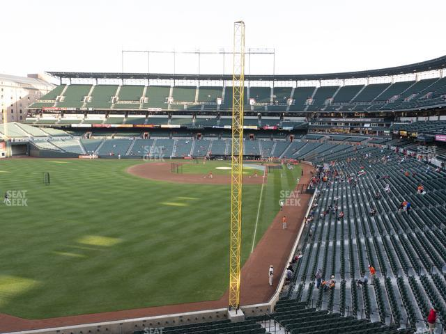 Oriole Park at Camden Yards Section 276 view