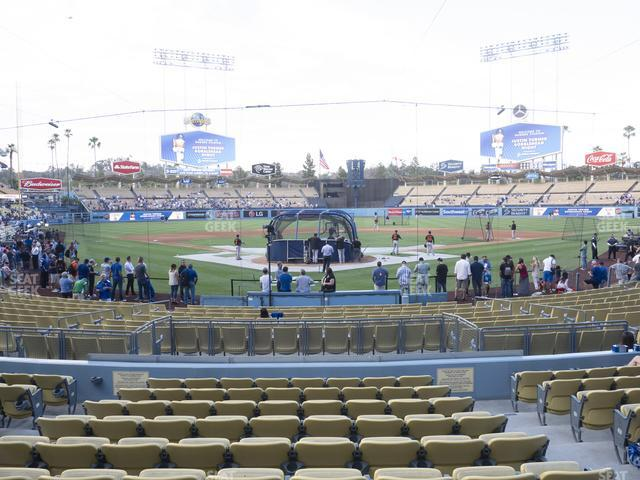 Dodger Stadium Field Box 2 view