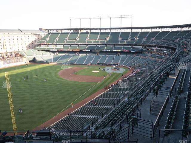 Oriole Park at Camden Yards Section 372 view