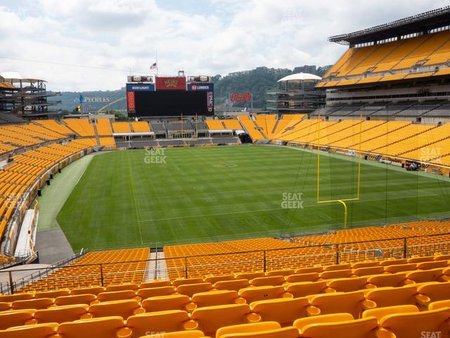 Heinz Field Section 220 view