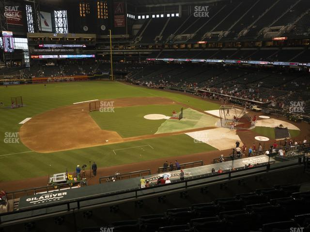 Chase Field Section 213 view