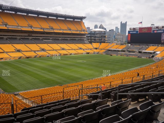 Heinz Field Section 229 view