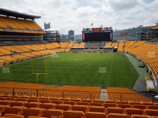 Heinz Field Section 225 view