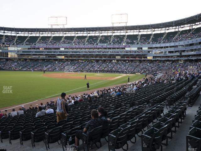 Guaranteed Rate Field Section 153 view