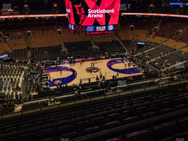Scotiabank Arena Section 310 view