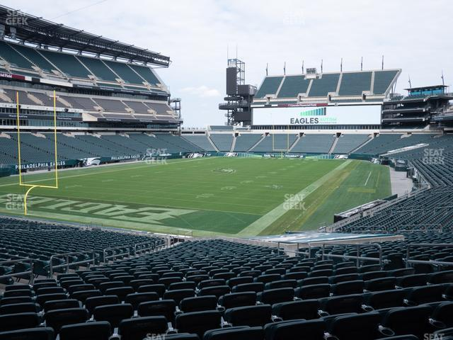 Lincoln Financial Field Section 112 view