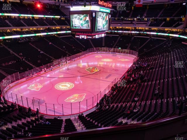 Xcel Energy Center Section Club 33 view