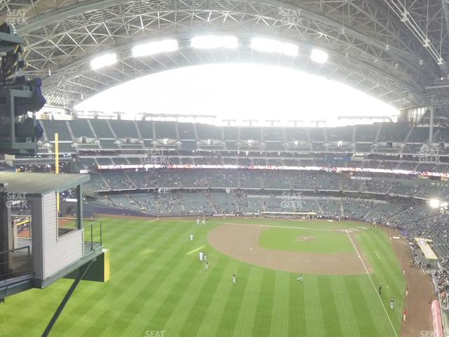 Miller Park Section 442 view
