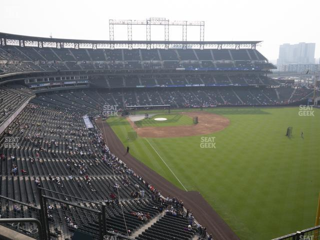Coors Field Lower 309 view