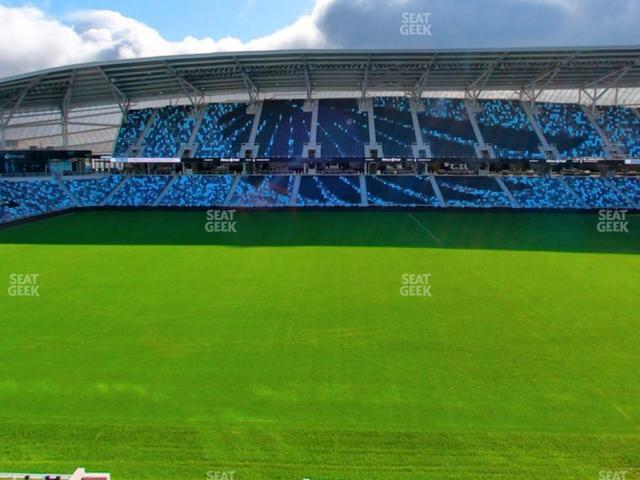 Allianz Field Section 133 view