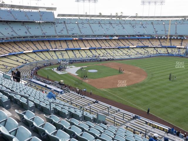 Dodger Stadium Reserve 40 view