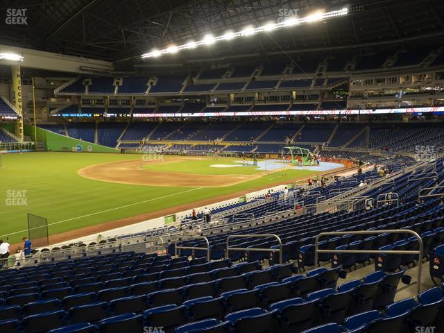 Marlins Park Section 25 view