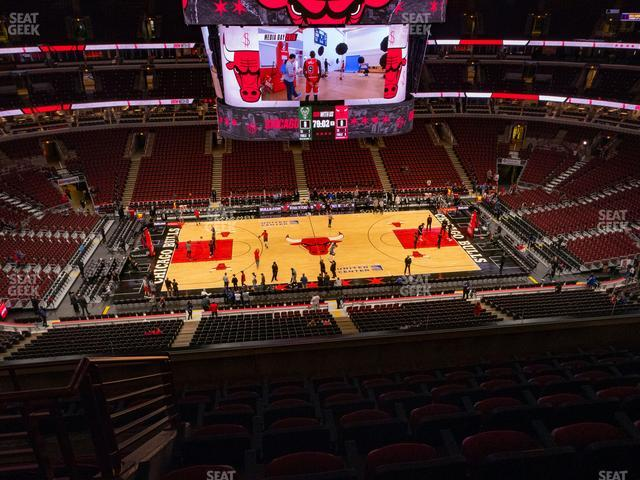 United Center Section 318 view