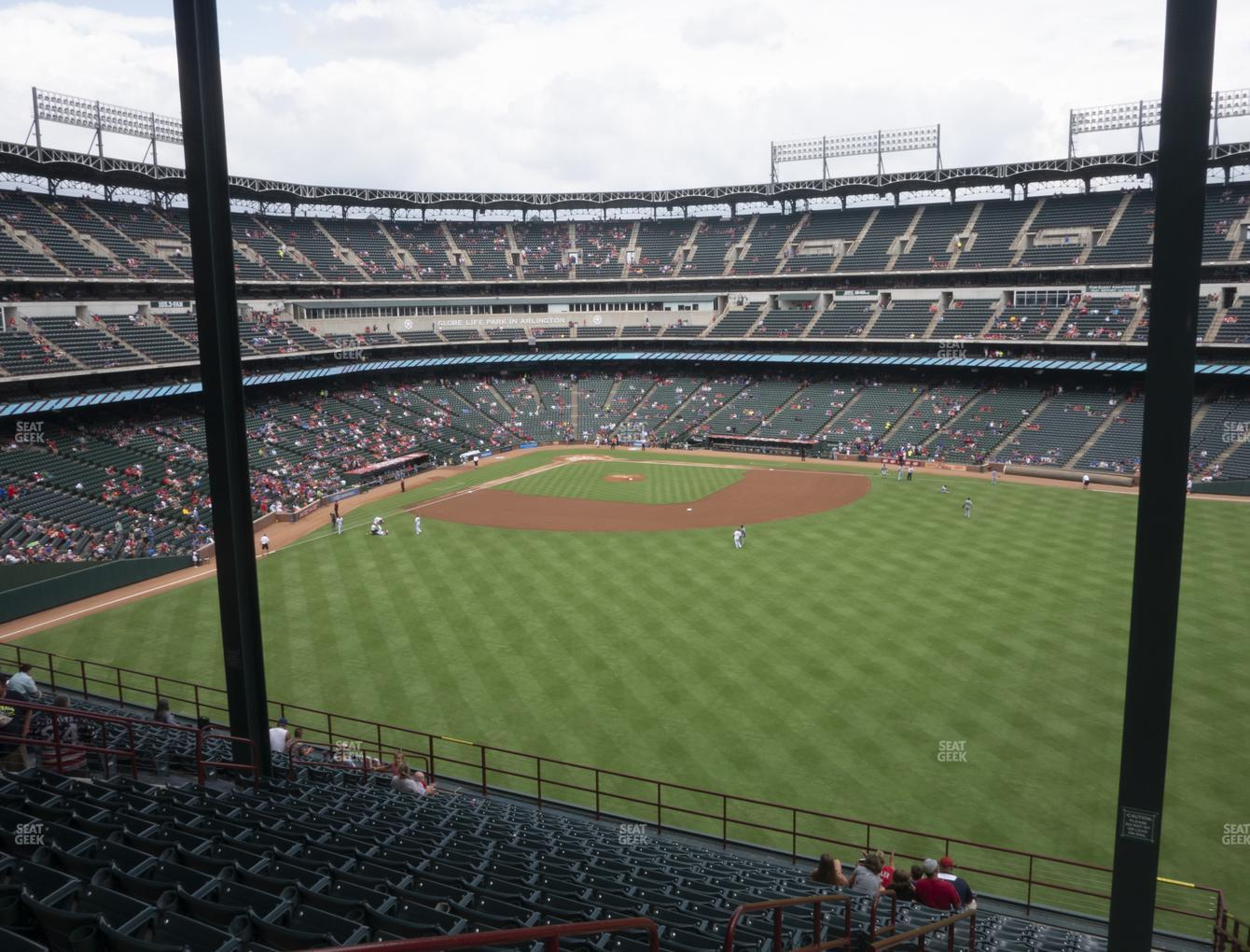 International Champions Cup at Globe Life Park Section 252 View
