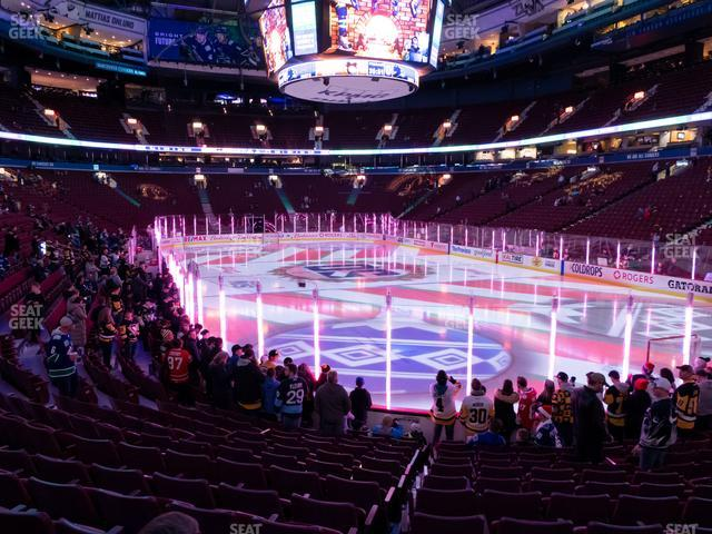 Rogers Arena Section 113 view