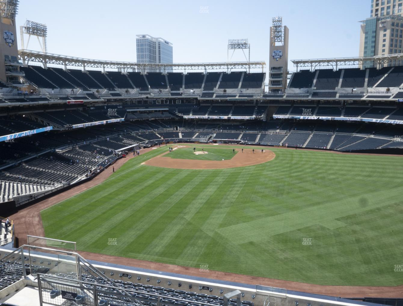 San Diego Padres at Petco Park Section 235 View