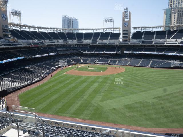 Petco Park Section 235 view