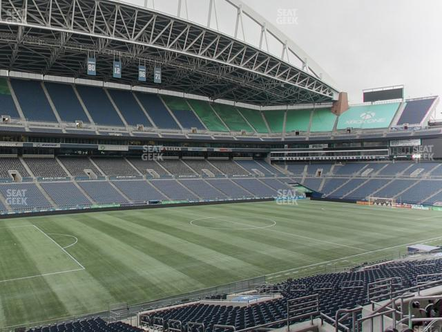CenturyLink Field Section Club 239 view