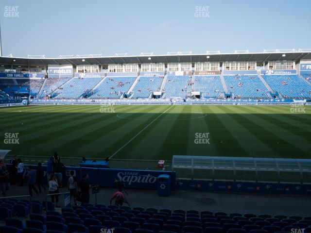Saputo Stadium Section 105 view