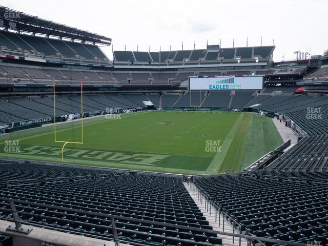 Lincoln Financial Field Section 131 view