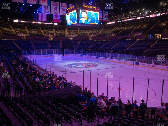 Nassau Veterans Memorial Coliseum Section 113 view