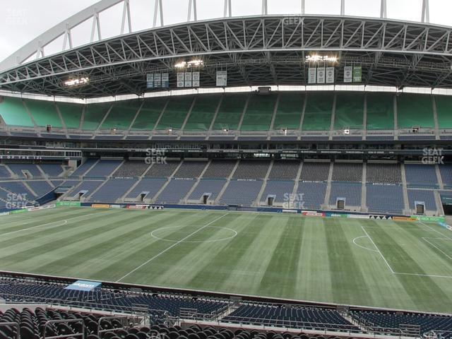CenturyLink Field Section Club 207 view