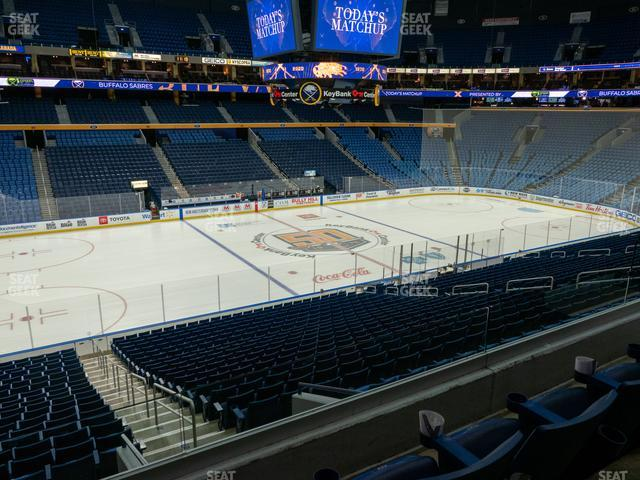 KeyBank Center Section 220 view