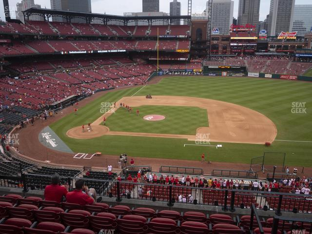 Busch Stadium Infield Redbird Club 244 view