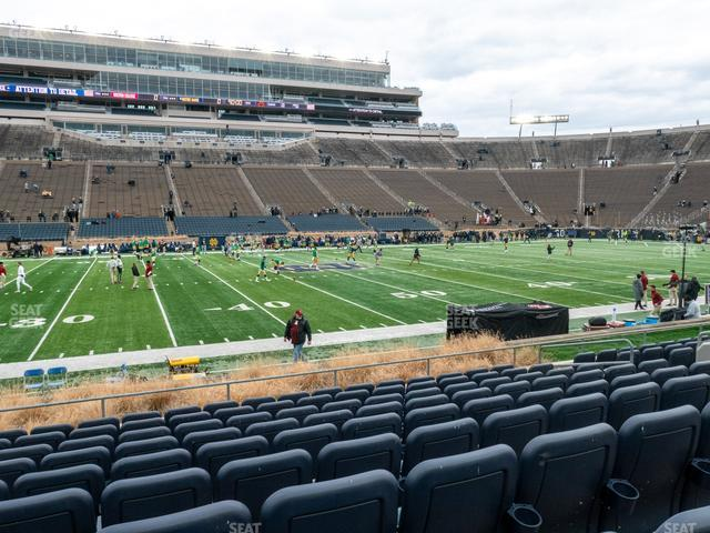 Notre Dame Stadium Preferred Seating 11 view
