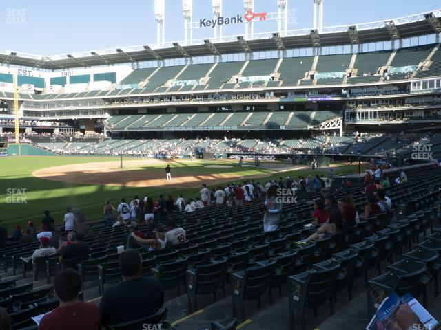 Progressive Field Section 171 view