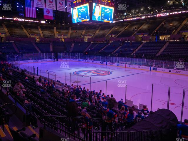 Nassau Veterans Memorial Coliseum Section 114 view