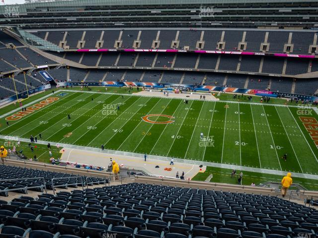 Soldier Field Section 435 view