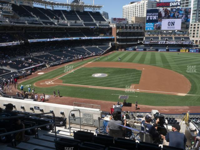 Petco Park Section 209 view