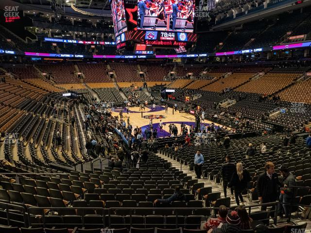 Scotiabank Arena Section 115 view