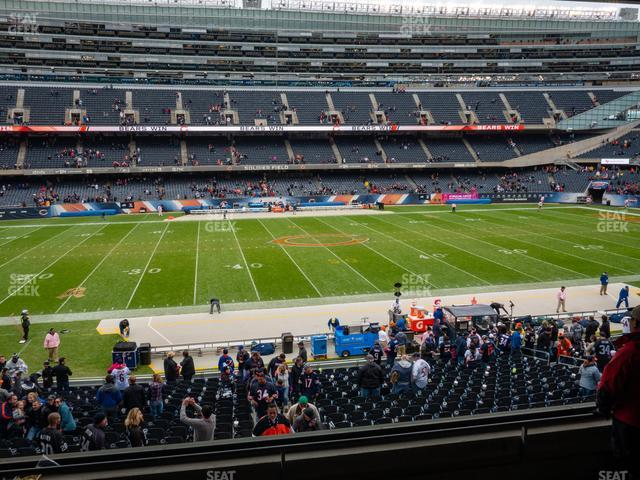 Soldier Field Section 239 view